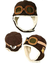 Load image into Gallery viewer, Kids Flight Helmet w/Goggles