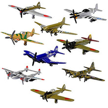 Load image into Gallery viewer, 9 Piece Metal Diecast Airplane Set