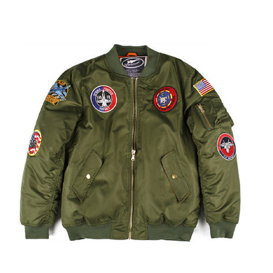 Adult Green Flight Jacket