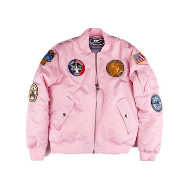 Adult Pink Flight Jacket