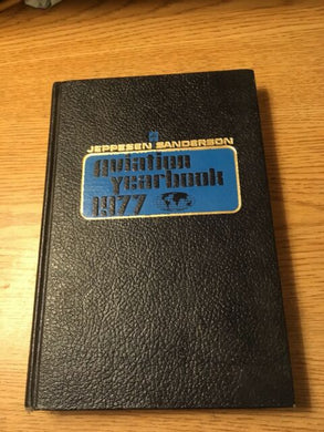 Aviation Yearbook 1977 Book, Used