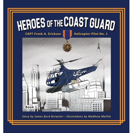 Heroes of the Coastguard Book, Used