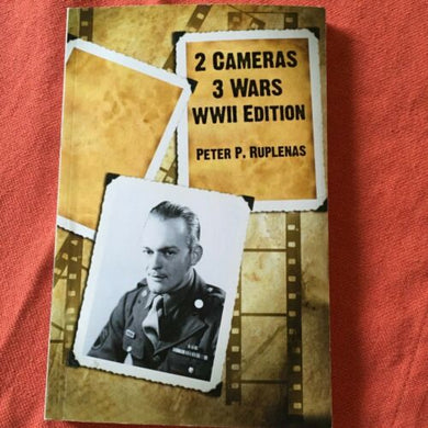 2 Cameras 3 Wars WWII Edition Book, Used