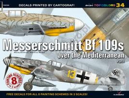 Messerschmitt BF 109s over the Mediterranean Book, Used