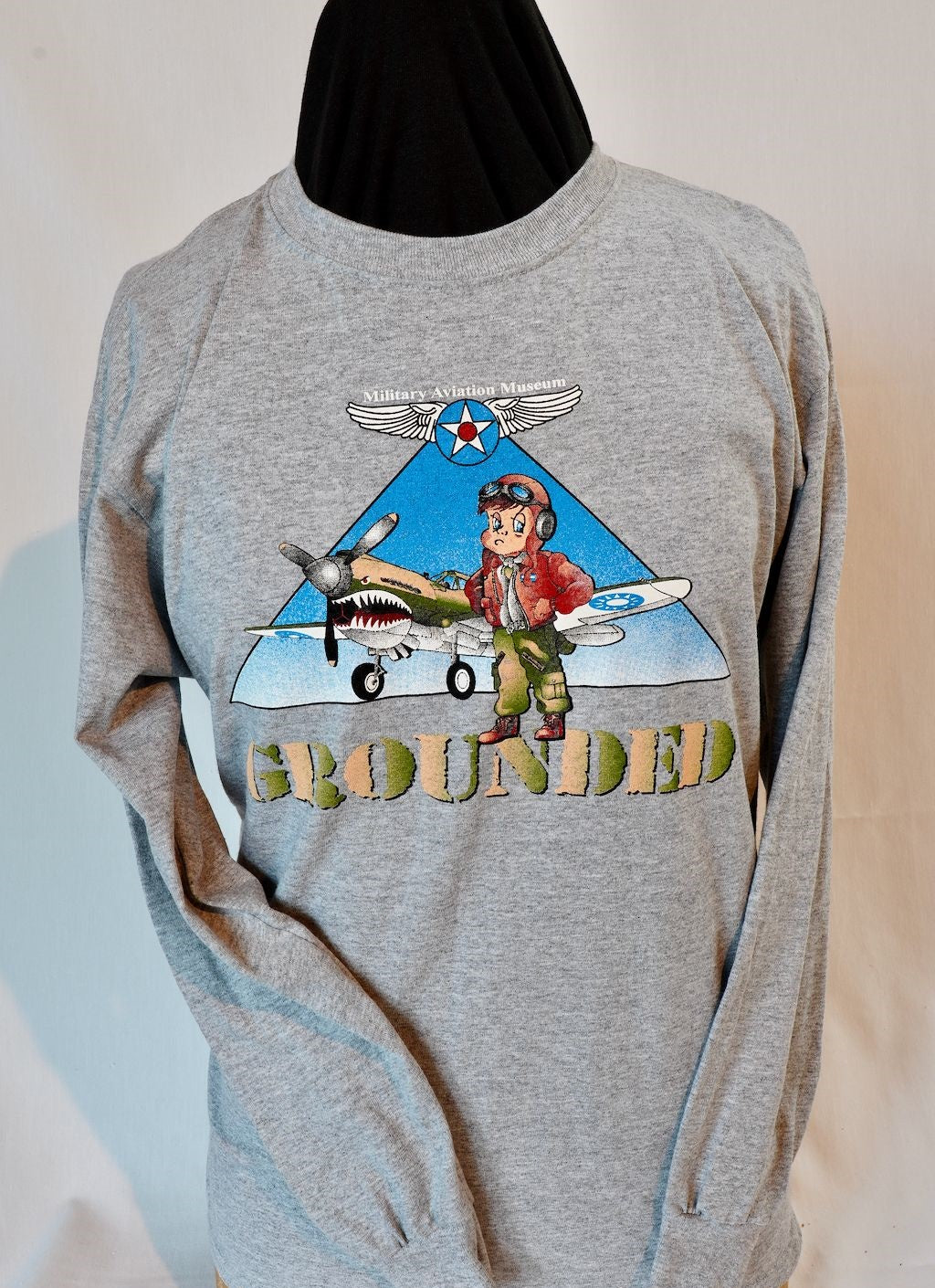 Youth Grounded Long Sleeve Tee