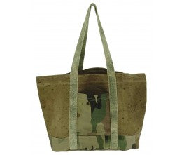 Vintage Addiction Large Camo Tote, hb00501