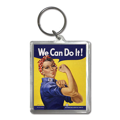We Can Do It Keychain