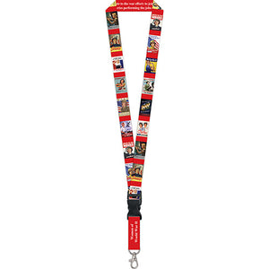 Women of WWII Lanyard