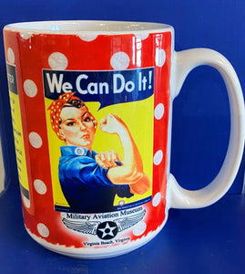 Rosie We Can Do It Mug