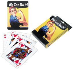 We Can Do It Playing Cards