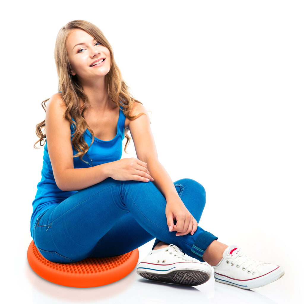 "Big Wiggle Seat Sensory Chair Cushion (33cm/13"") For Kids Age 6-18+"