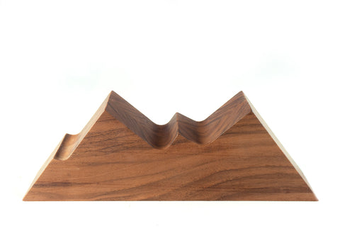 The Calmness of the Mountain - Walnut