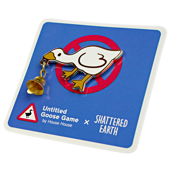 Official Untitled Goose Game Pin: Bell