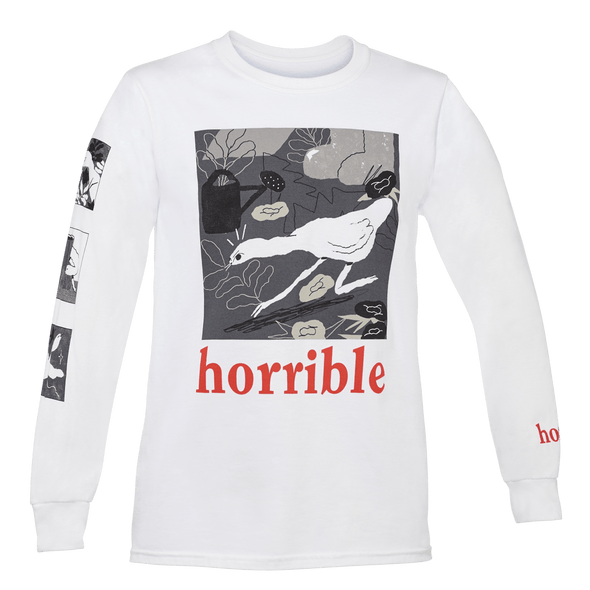 Official Untitled Goose Game Long-Sleeve Shirt: Horrible