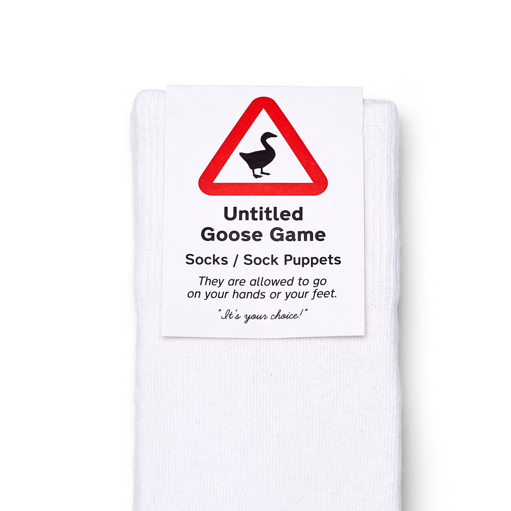 Official Untitled Goose Game Socks