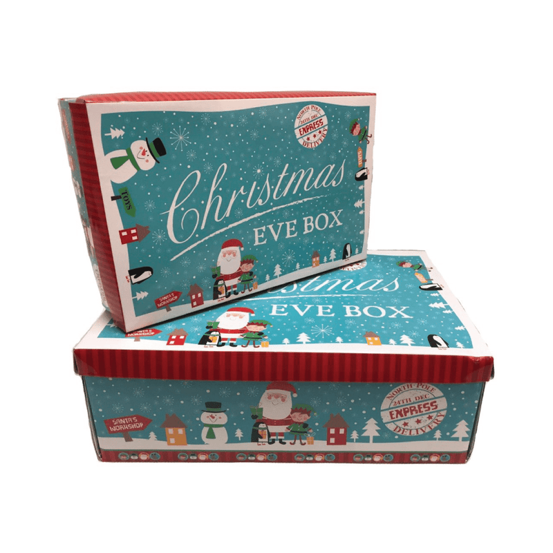 Festive Characters - Med/Large Christmas Eve Box