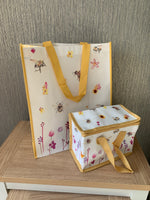 Busy Bee Garden Lunch Bag