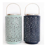 Bubble Ridge Lantern - Dark Blue