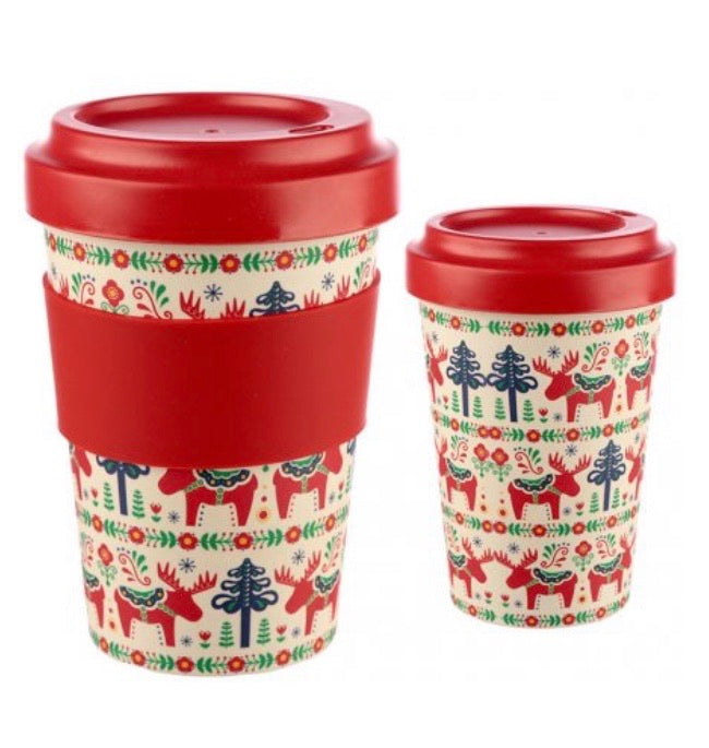 Scandinavian Christmas Travel Mug
