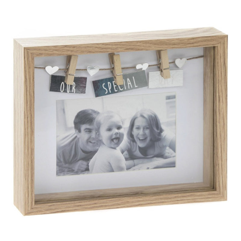 'Our Special Day' Box Peg Frame