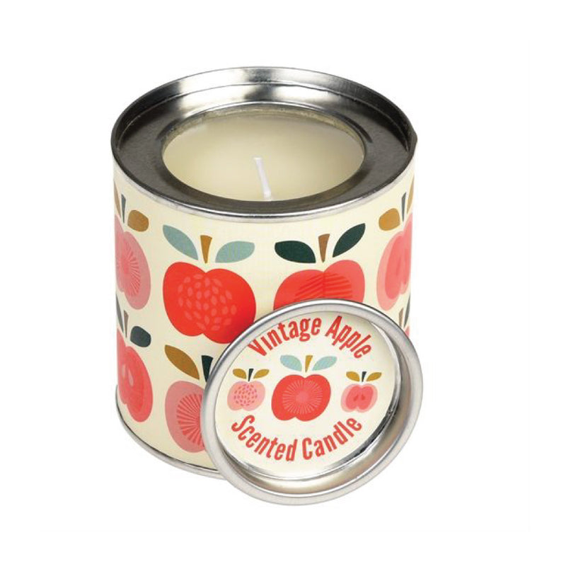 Vintage Apple Candle Tin