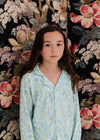Kids Collar PJ Set: Morris Floral SLEEPY DOE