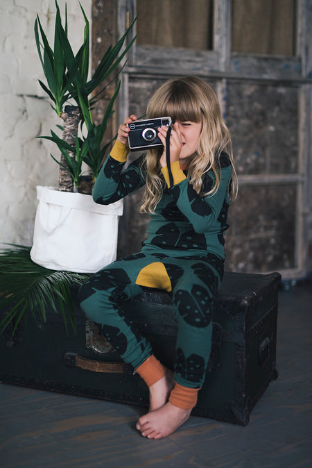 Monstera Forest Pyjamas THE BRIGHT COMPANY