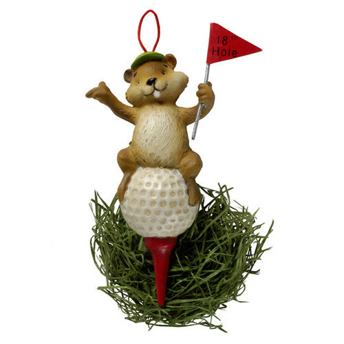 Gopher Ornament