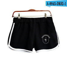 Load image into Gallery viewer, 2018 Mac Miller Swimming Shorts Women Casual Cotton Short Femme Contrast Elastic Waist Shorts Fast Drying Drawstring Clothing