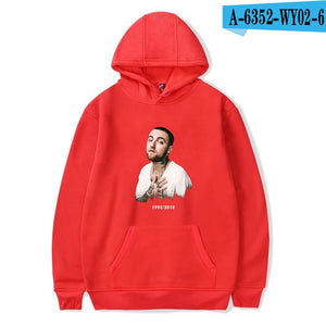 2018 Mac Miller harajuku  Cap oversized cotton hoodie sweatshirt men women tracksuit Casual o neck long sleeve fans Clothes 4xl