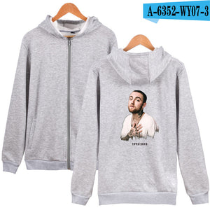 LUCKYFRIDAYF 2018 Mac Miller  Cool Cap oversized Cool hoodie sweatshirt tracksuit Fashion Women/Men K-pop moletom Fans Clothes