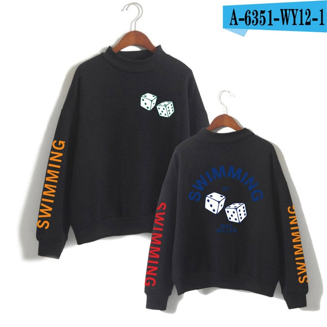 LUCKYFRIDAYF 2018 Mac Miller caoless Hoodies sweatshirt Men women Album Print  Pullovers Kpop hit hop men hoodies Cool clothes