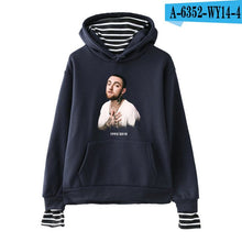 Load image into Gallery viewer, LUCKYFRIDAYF 2018 Mac Miller hoody Velvet fake two Hoodie Sweatshirts men Women Casual hit hop Turtlenceck cotton Hoodie clothes