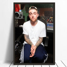 Load image into Gallery viewer, Mac Miller Music Star Poster 20x30 Inch Home Decor Celebrity Pictures Silk Fabric Cloth Poster No Frame