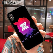 Load image into Gallery viewer, MaiYaCa Mac Miller High Quality Classic High-end Phone Accessories Case for iPhone X 7plus 6 6s 7  8 8Plus 5 5S 5C case