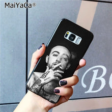 Load image into Gallery viewer, MaiYaCa Macs Miller Black Soft Shell Phone Cover for Samsung Galaxy S8 S7 edge S6 edge plus S5 S9 Pluscase