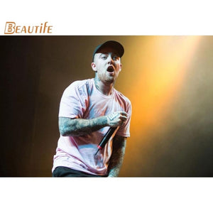 New Arrival mac miller poster Cloth Silk Poster Home Decoration Wall Art Fabric Poster Print 30x45cm,40X60cm.50X75cm,60X90cm