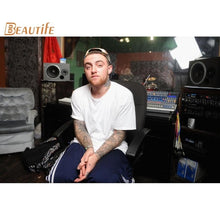 Load image into Gallery viewer, New Arrival mac miller poster Cloth Silk Poster Home Decoration Wall Art Fabric Poster Print 30x45cm,40X60cm.50X75cm,60X90cm