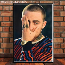 Load image into Gallery viewer, Posters and Prints Hot Mac Miller R.I.P New 2018 Hip Hop Rapper Music Singer Star Album Poster Home Decor for Living Room