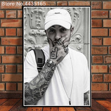 Load image into Gallery viewer, RIP Custom poster Mac Miller canvas painting poster New arrival wall Art poster Fabric Cloth Print for Living Room Home Decor