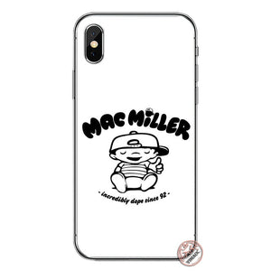 YIMAOC Macs Miller Soft Silicone Cover Case for Apple iPhone XS Max XR X 6 6S 7 8 Plus 5 5S SE 10 TPU Phone Cases