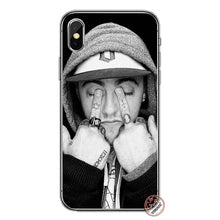 Load image into Gallery viewer, YIMAOC Macs Miller Soft Silicone Cover Case for Apple iPhone XS Max XR X 6 6S 7 8 Plus 5 5S SE 10 TPU Phone Cases
