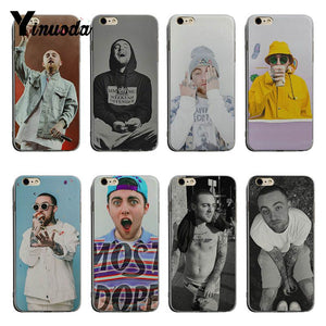 Yinuoda Mac Miller soft tpu phone case cover For iPhone 6 6plus 7 7Plus 8 8plus X XS XR XSMax