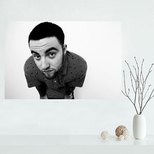 Custom canvas poster AQUARIUS Mac Miller canvas painting poster New arrival wall Art poster Fabric Cloth Print