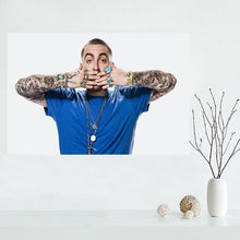 Load image into Gallery viewer, Custom canvas poster AQUARIUS Mac Miller canvas painting poster New arrival wall Art poster Fabric Cloth Print