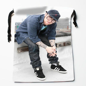 New Arrival AQUARIUS Mac Miller Drawstring Bags Custom Storage Printed Receive Bag Type Bags  Storage Bags Size 18X22cm
