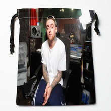 Load image into Gallery viewer, New Arrival AQUARIUS Mac Miller Drawstring Bags Custom Storage Printed Receive Bag Type Bags  Storage Bags Size 18X22cm