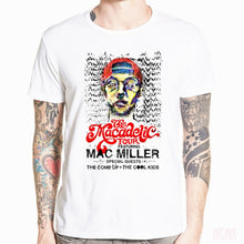 Load image into Gallery viewer, Asian Size Print Mac Miller R.I.P Rap Hip Hop Music Band T-shirt Short sleeve O-Neck T shirt For Men And Women HCP4526