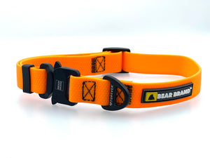 "BEAR BRAND ""Forever"" Collar Metal Buckle Orange"