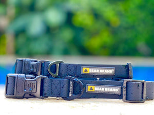 "BEAR BRAND ""Forever"" Collar Plastic Buckle Black"